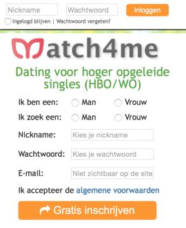 match4me form